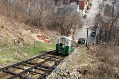 The 296-foot long Fenelon Place Elevator in Dubuque, Iowa, is claimed to be the shortest and steepes... - Provided by Reader's Digest (Association) Canada ULC