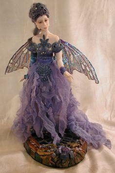 Original Doll Sculptures by Bonnie Jones