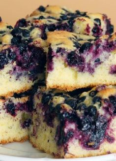 Low FODMAP & Gluten free Recipe -  Blueberry cake  http://www.ibssano.com/low_fodmap_recipe_blueberry_cake.html