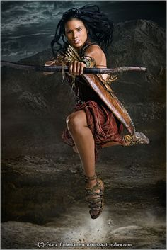 Katrina Law as Mira from Spartacus