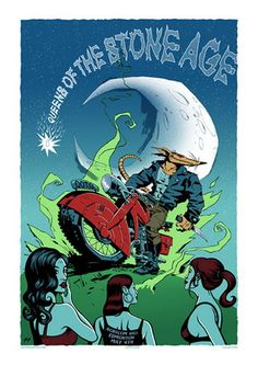 Queens of the Stone Age Concert Poster (Edmonton)