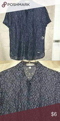 Amille Button Down Shirt 62% algodon 38% poliamida Amille Tops Button Down Shirts