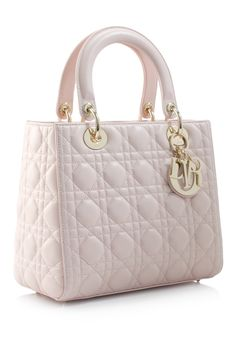Christian Dior Lady Dior Medium Bag! Love!!! I want in black or this!