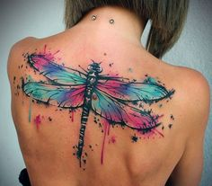 Watercolor tattoos have totally taken off in the last five years and they are bright, they are bold and pretty flipping awesome. Whether you want to cover up a painful scar, honour someone or a furry friend or