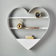 Decorative Wall Shelves & Hooks   PBteen
