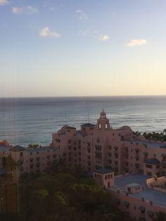 """Waikiki- """"The Pink Palace"""""""