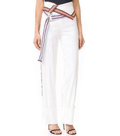9+Easy+Versions+of+the+Hardest+Pants+to+Wear+via+@WhoWhatWearAU