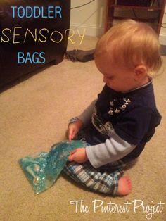Toddler sensory bags