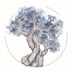 Ink Tree Test: Iroshizuku ~ Fuyu-syogun ( how I love love love...