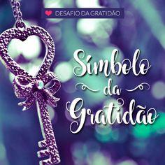 Desafio da Gratidão - Seja grato - Dia 9 - Simbolo Gatilho Gratidao