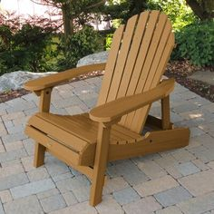 highwood Hamilton Tan Plastic Stationary Adirondack Chair(s) with Slat Seat at Lowe's. Welcome to highwood®. With its classic form, our Hamilton chair is truly a design icon. Rustic Chair, Rustic Furniture, Outdoor Furniture, Plastic Adirondack Chairs, Outdoor Chairs, Outdoor Decor, Toffee, Hamilton, Patio