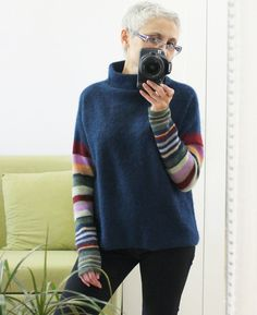 Nature Crafts, Striped Knit, Knitwear, Knitting, Clothes, Knits, Dresses, Inspire, Women