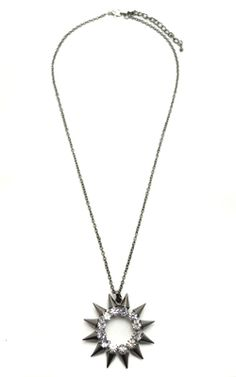 What's In Store - $22 Paige Necklace Hematite