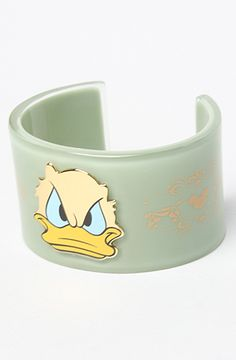 The Disney Couture Jewelry X Dr. Romanelli  Donald Duck Cuff Bracelet by Disney Couture Jewelry