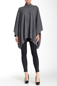 Theory Florencia Lorywash Wool Blend Poncho  Sponsored by Nordstrom Rack.