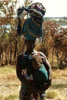 Woman and child zambia