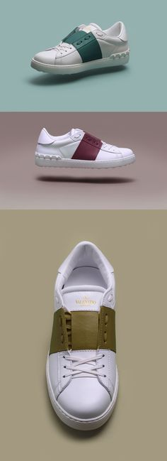 "Next Level Colour Blocking | Valentino Uomo ""Open Sneaker"" 