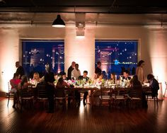 Photography : Brian Hatton Photography Read More on SMP: http://www.stylemepretty.com/new-york-weddings/new-york-city/brooklyn/2015/05/11/industrial-chic-brooklyn-warehouse-wedding/