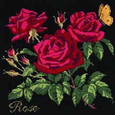 Rose Needlepoint Kit by Elizabeth Bradley ** Check out this great product.