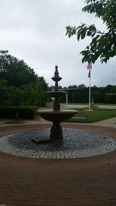 Fountain from Greer campus of Greenville Hospital System.