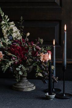 Sense and Sensuality Moody Event Design in a Botanic Garden - wedding ideas Floral Wedding, Wedding Colors, Wedding Flowers, Bouquet Wedding, Wedding Nails, Wedding Ceremony, Our Wedding, Dream Wedding, Wedding Ideas