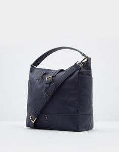 Belsize bright French Navy Tote Bag , Size One Size | Joules UK