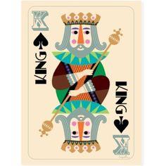 King Poster ~ Ingela P. Arrhenius