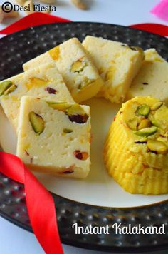 You searched for Kalakand - Desi Fiesta Indian Dessert Recipes, Indian Sweets, Indian Snacks, Sweets Recipes, Easy Desserts, Cooking Recipes, Indian Recipes, Indian Foods, Eid Recipes