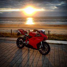Sunset Ducati