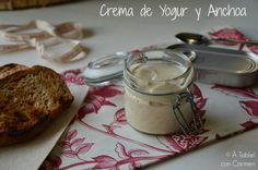 À table ! con Carmen: Crema de Yogur y Anchoas