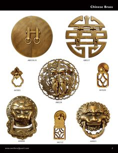 oriental hardwarechinese hardwarebrass hardwarecabinet hardware