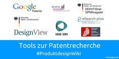 In der Produktentwicklung und -umsetzung ist die Patent- und Gebrauchsmusterrecherche von hoher Bedeutung. Es gibt verschiedene Tools- und Plattformen, die einem das Research erleichtern. Wir haben eine Liste angelegt, die jedem weiterhelfen sollte! #manugoo #produktdesignwiki #produktdesign #patent   http://manugoo.de/produktdesign-wiki/research/patentresearch/tools-zur-patentrecherche-manugoo-produktdesignwiki/