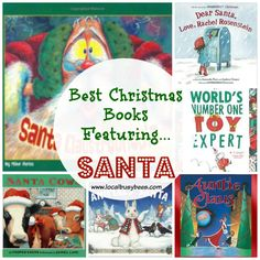 The magic of Santa brings happiness to all. I've gathered a list of the best Santa books in different categories: Classics, Animal Santas, Humorous, Unique, S Best Christmas Books, Christmas World, A Christmas Story, Christmas Fun, Preschool Christmas, Busy Bee, Read Aloud, Dear Santa, Story Time