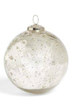 Free shipping and returns on Sage & Co  Mercury Glass Ball Ornament at Nordstrom.com. Create an enchanting Christmas atmosphere with an antiqued mercury-glass ball ornament.