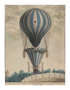13-Experiencia aerostática de Francesco Orlandi en Bolonia-Noviembre de 1828