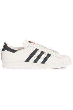 Mooie Adidas Superstar 80s (wit) Heren sneakers van het merk adidas . Uitgevoerd in wit.