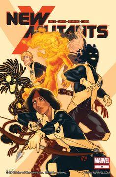 """comic-books: """"Artwork for cover of New Mutants vol 3 April, Art by Kris Anka. Ms Marvel, Marvel Comics Art, Fun Comics, Marvel Heroes, New Mutants Movie, The New Mutants, X Men, Comic Books Art, Comic Art"""