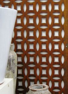 Add dramatic impact to a courtyard wall, connecting the style of your homes interior with your garden decor, by installing an outdoor wall panel. Either attached to a wall or freestanding, the Circles rusted screen brings, texture and pattern to the space contrasting beautifully with the colours of your plants. Features Circles Corten Screen is Australian made and produced from 3mm Corten steel. Suitable for outdoors use. The steel is chemically rusted and will gently age for years withou…