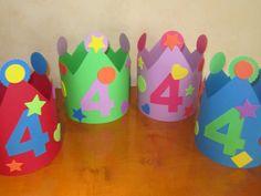 coronas cumpleaños cartulina - Buscar con Google