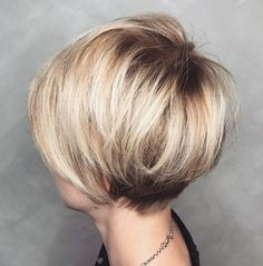 Blonde Pixie Bob With Added Volume
