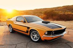 Ford Mustang Mach 1 Fastback 1969.