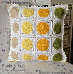 La Magia del Crochet: COJIN SOMMER