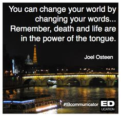 How have your words made an impact today? #IBcommunicator