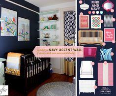 navy nursery