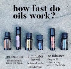 oil doterra How fast do essential oils work? doTERRA How fast do essential oils work? Essential Oils For Colds, Essential Oils Guide, Essential Oil Diffuser Blends, Essential Oil Uses, Natural Essential Oils, Therapeutic Grade Essential Oils, Healing Oils, Aromatherapy Oils, Qi Gong