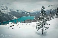 paulzizkaphoto: Theres a chill in the air in Banff this. Canada National Parks, Banff National Park, Winter Images, Canadian Rockies, Mountain Landscape, Nature Pictures, Beautiful World, Beautiful Scenery, Vacation Spots