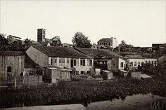 Album vistas de Manaus, Boeiro do Igarapé do espirito santo, 1890 G.Huebner