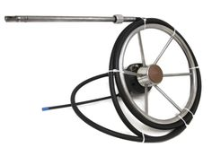 BOATING Complete Boat Steering System by Teleflex Marine Rotary Helm and Cable plus 6-Spoke Stainless Steel Steering Wheel $349.95 with FREE SHIPPING   #MichiganFreshwaterMarine   #Boating   #BoatSteeringSystem   #BoatSteeringWheel   #RotaryHelm   #MarineSteering   #MarineSteeringCable   #Cable   #StainlessSteelSteeringWheel    #TeleflexCable   #TeleflexRotaryHelm   #TeleflexHelm www.stores.ebay.com/Michigan-Freshwater-Marine
