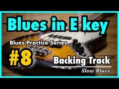 [Blues Practice Series Blues (Slow Texas Blues in E Key Tempo - Backing Track & Sheet Music Kind Of Blue, Backing Tracks, Soloing, Guitar Lessons, Excercise, Sheet Music, Blues, Texas, Key