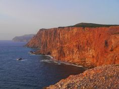 Sense and Simplicity - amazing 300 foot high cliffs at Cape St. George, Port aux Port Peninsula, Newfoundland